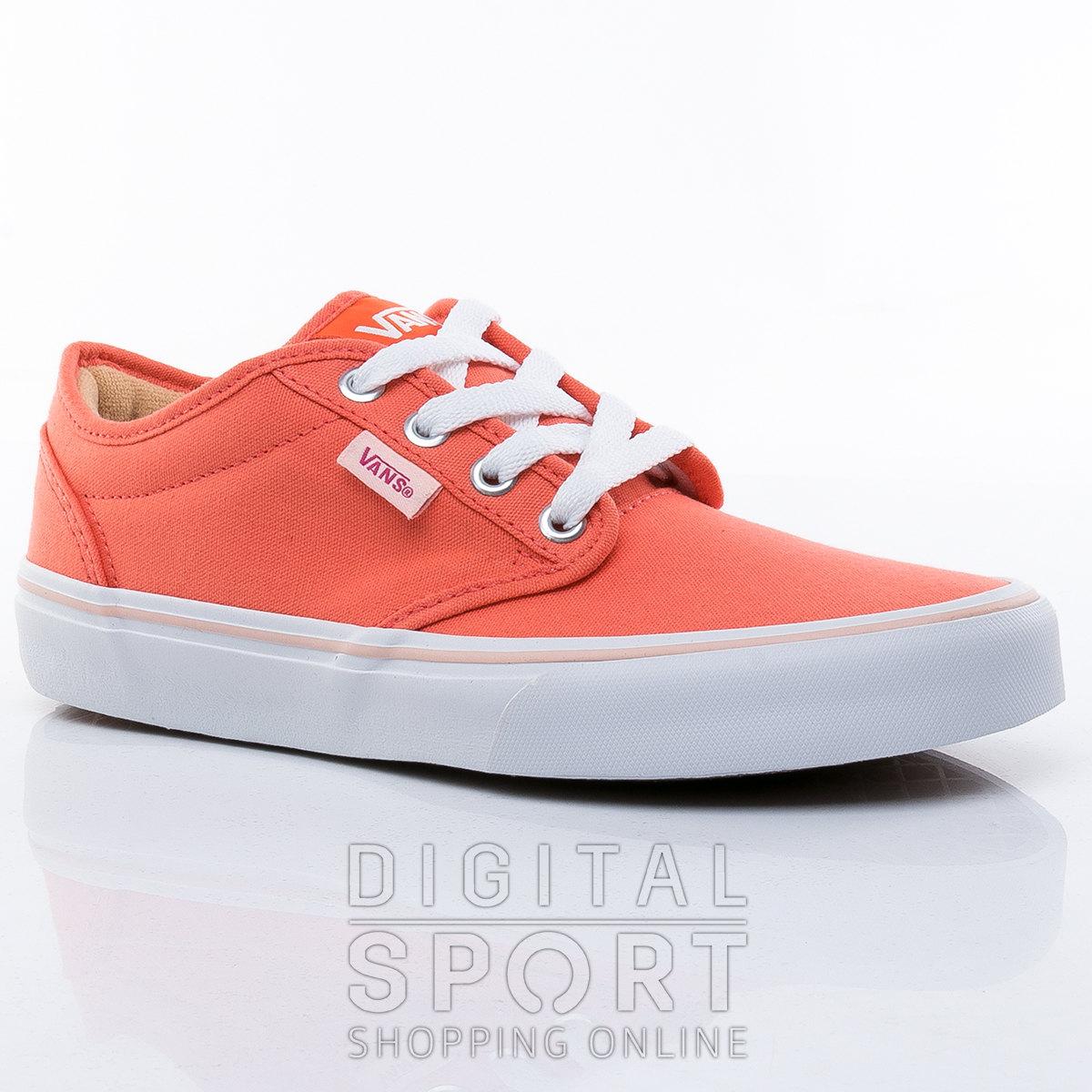 zapatillas vans naranja
