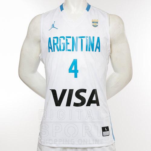 CAMISETA BASQUET ARGENTINA  4 SCOLA EN MUSCULOSAS NIKE PARA HOMBRE ... e1fc7506d4ebd