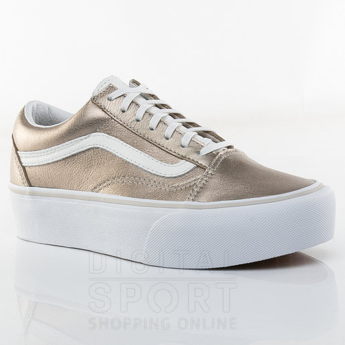 zapatillas vans plataform