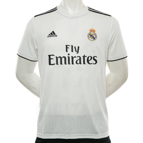 CAMISETA REAL MADRID HOME 18 19 EN CAMISETAS ADIDAS PARA HOMBRE DE ... 056c437667cd9