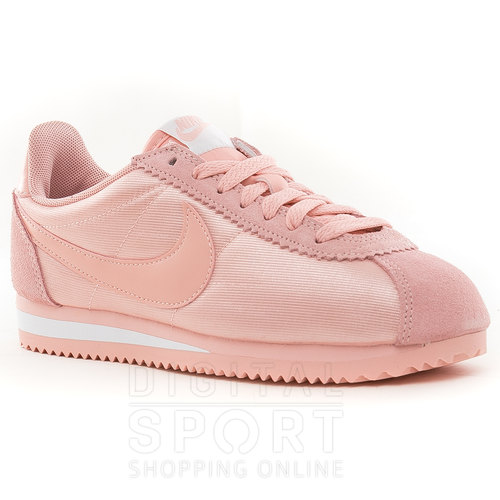 zapatillas mujer nike cortez rosa