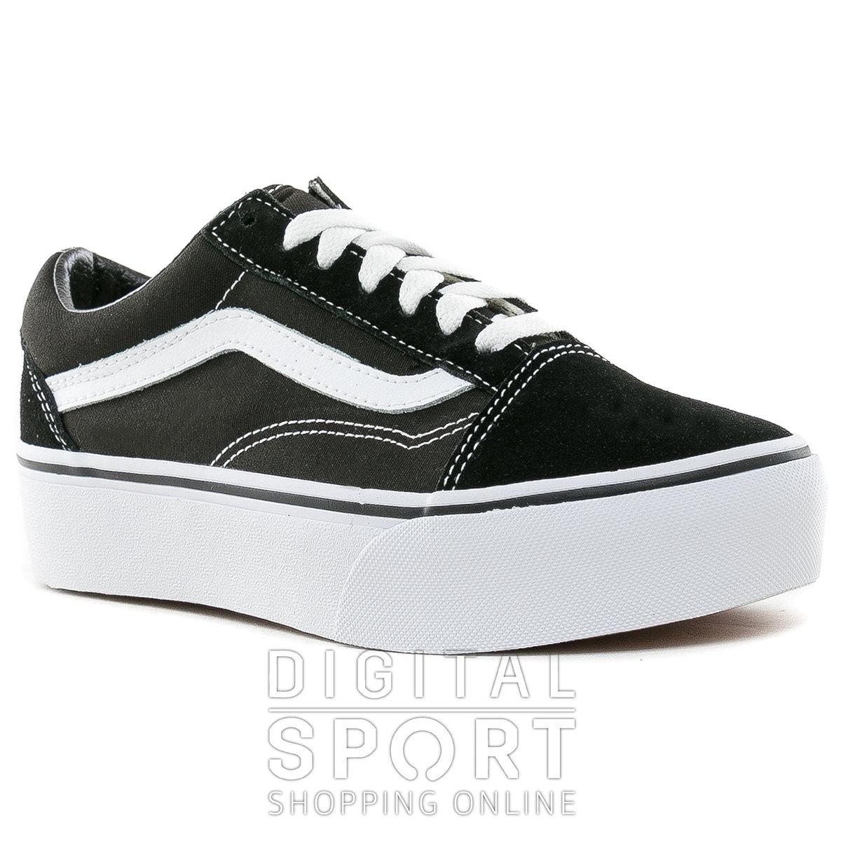 vans zapatillas negras plataforma