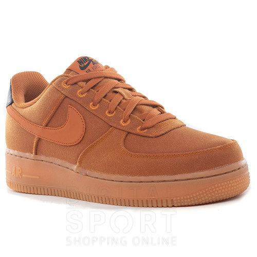 nike air force 1 hombre marron