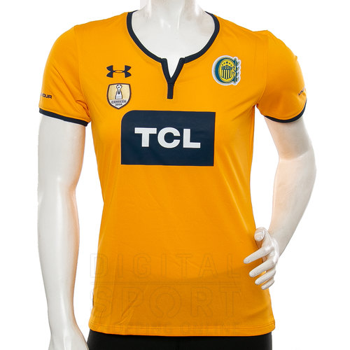 Mujer Under Rosario Central Armour Camiseta Away 34R5LAjq