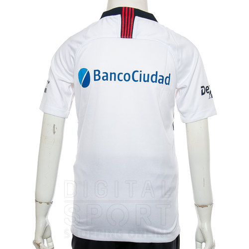 CAMISETA SAN LORENZO STADIUM AWAY KIDS