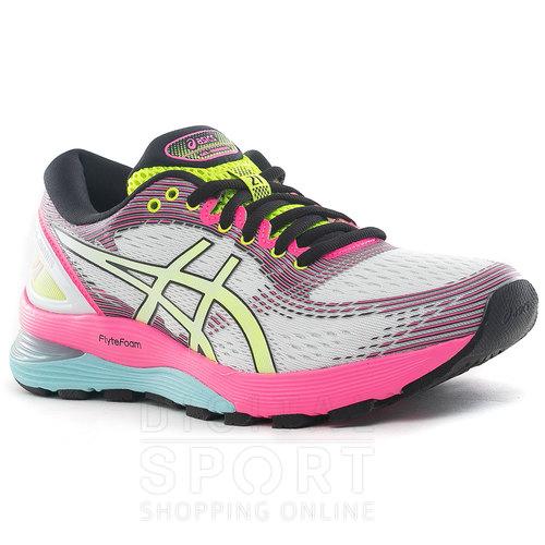 asics gel nimbus 21 mujer running