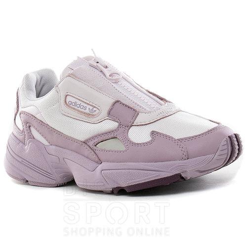 adidas falcon rosa mujer