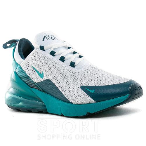 zapatillas nike verdes agua