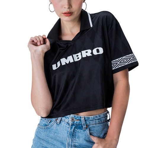 CHOMBA POLO BLACK