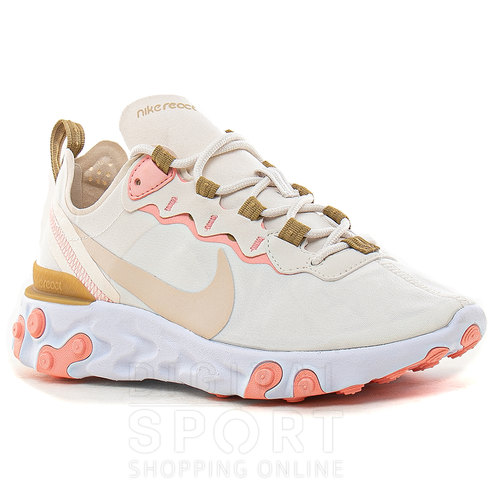 ZAPATILLAS W REACT ELEMENT 55