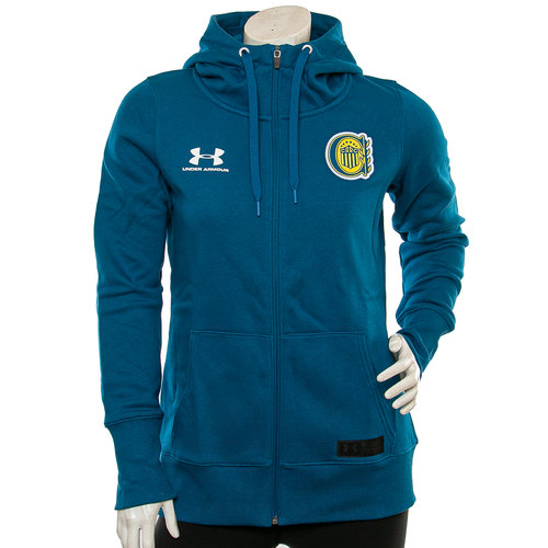 BUZO ROSARIO CENTRAL RIVAL FULL ZIP